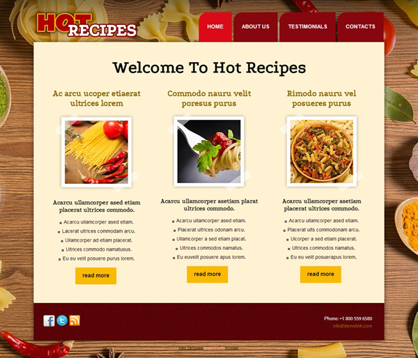 Hot Recipes