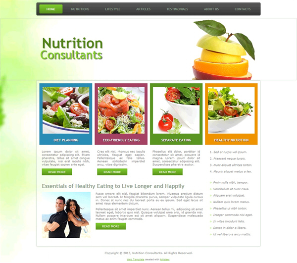 Nutrition Consultants